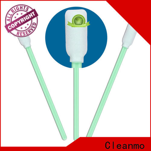 Cleanmo ESD-safe throat swab factory price for excess materials cleaning
