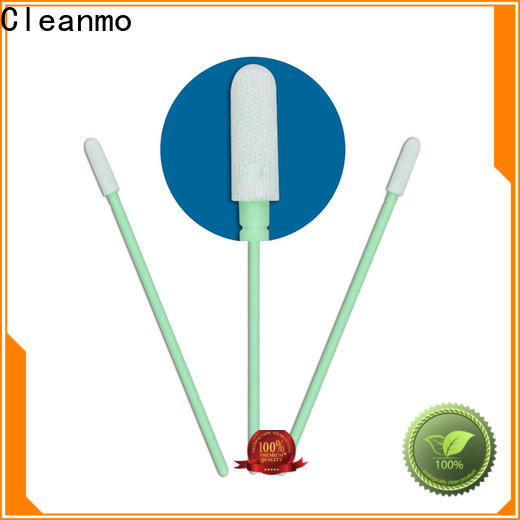 Cleanmo double layers of microfiber fabric microfiber swabs factory price for general purpose cleaning