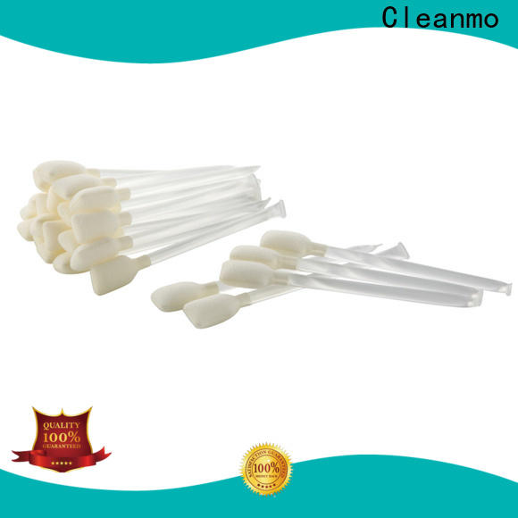 Cleanmo Sponge printhead cleaning swab supplier for ATM/POS Terminals