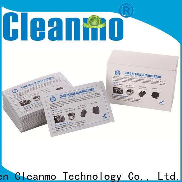 Cleanmo Aluminum Foil Evolis Cleaning Pens factory price for ID card printers