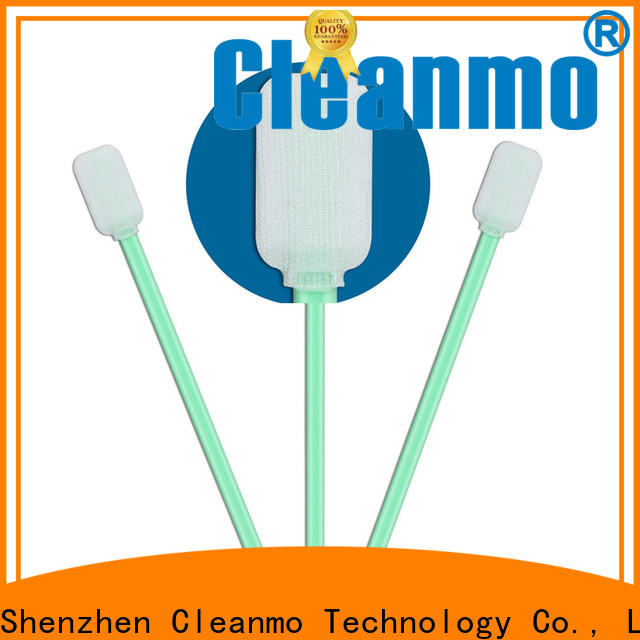 good quality Industrial polyester swabs flexible paddle factory for microscopes