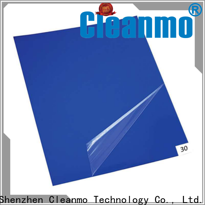 Cleanmo safe material adhesive mat manufacturer for gowning rooms
