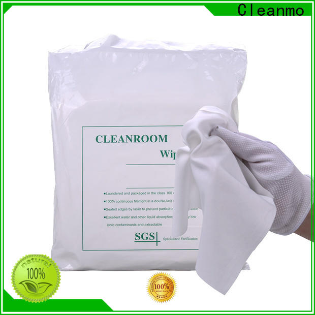Cleanmo cutting edge lint free wipes factory direct for Stainless Steel Surface