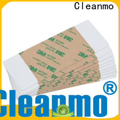 Cleanmo high tack pressure sensitive adhesive printer cleaning card wholesale for Magna Platinum