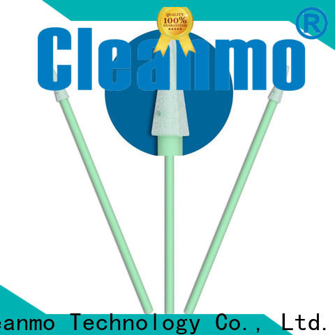 high quality lemon glycerin swabs small ropund head wholesale for excess materials cleaning