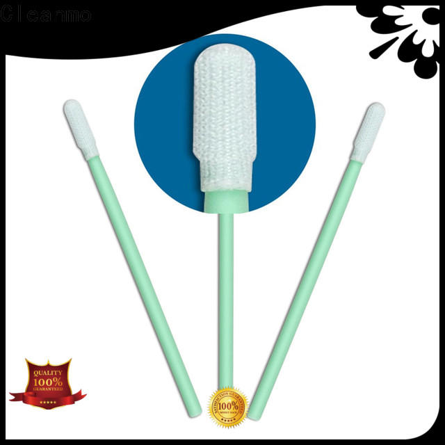 good quality polyester cleanroom swabs flexible paddle supplier for printers