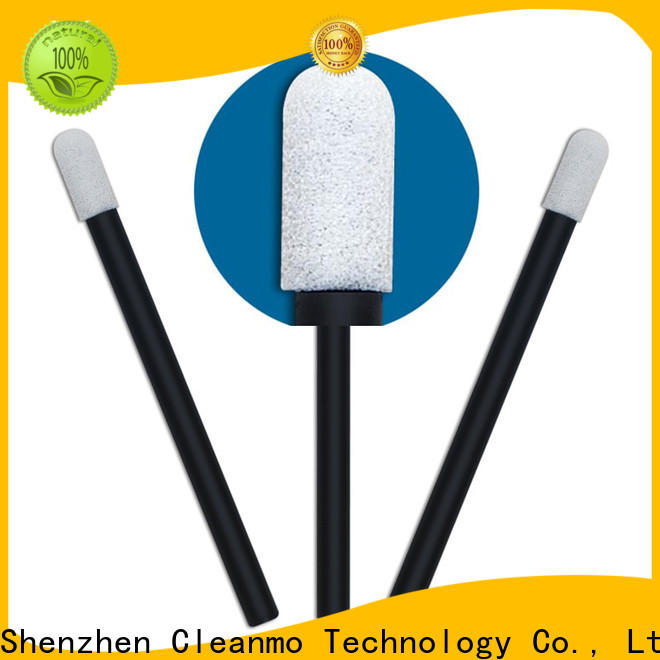 Cleanmo precision tip head lemon glycerin swabs wholesale for general purpose cleaning