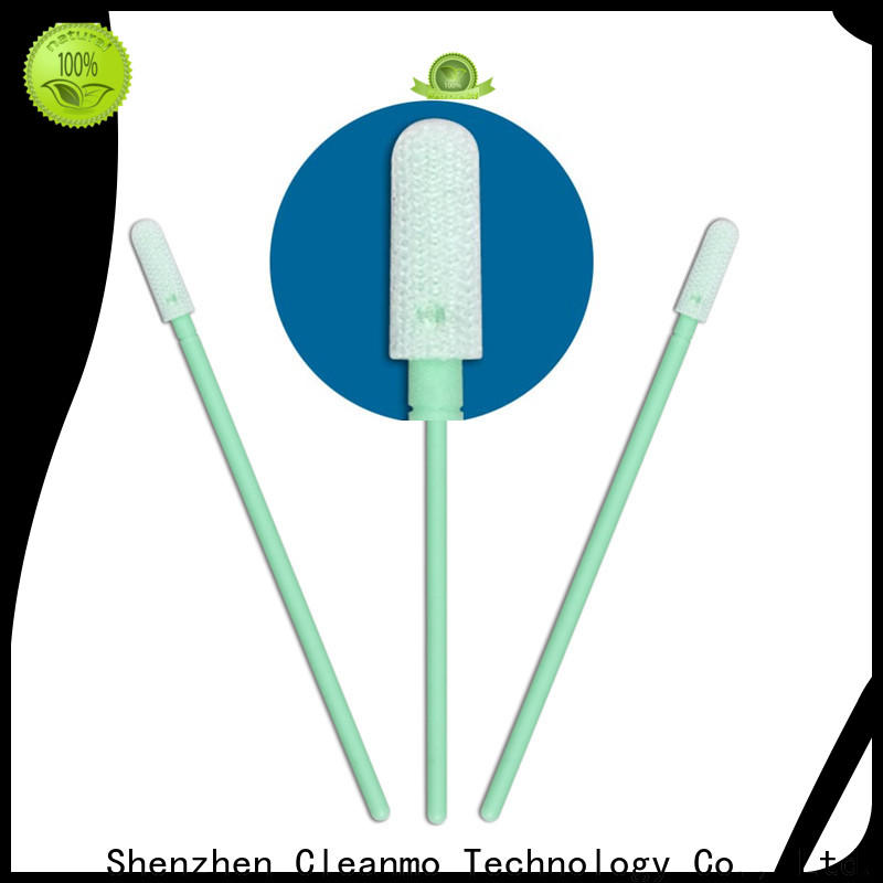 Cleanmo good quality dacron polyester swabs supplier for microscopes