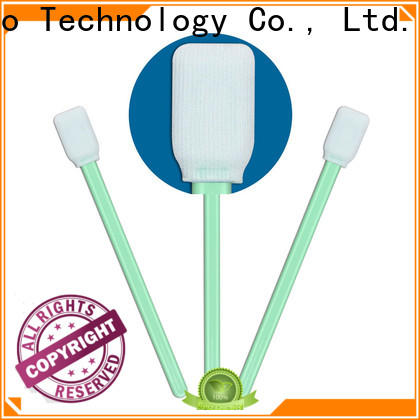 Cleanmo good quality polyester cleaning swabs supplier for microscopes