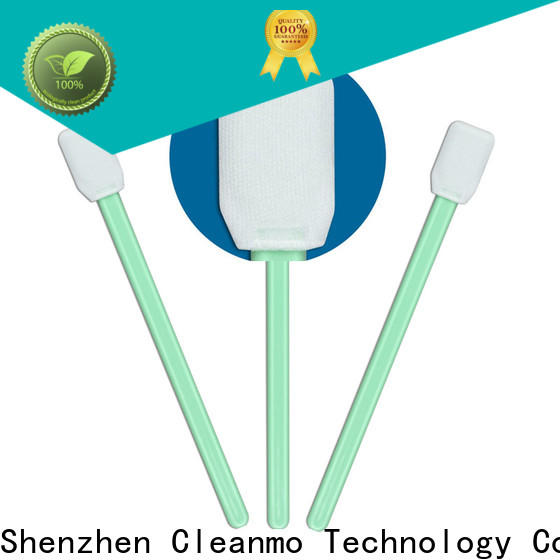 Cleanmo affordable optical cotton swab manufacturer for Micro-mechanical cleaning