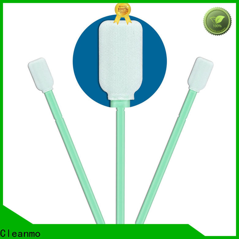 Cleanmo Polypropylene handle electronics cleaning swab manufacturer for excess materials cleaning