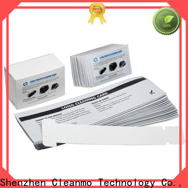 Cleanmo T shape zebra cleaning card supplier for cleaning dirt