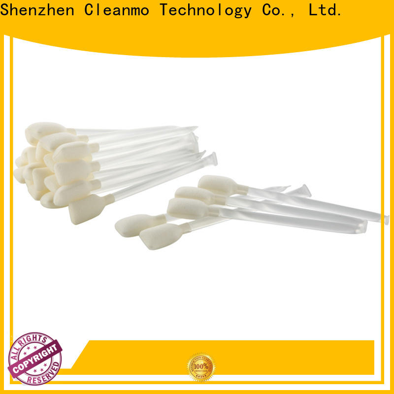 Cleanmo Aluminum Foil IPA pre-saturated cleaning swabs wholesale for ID Card Printers