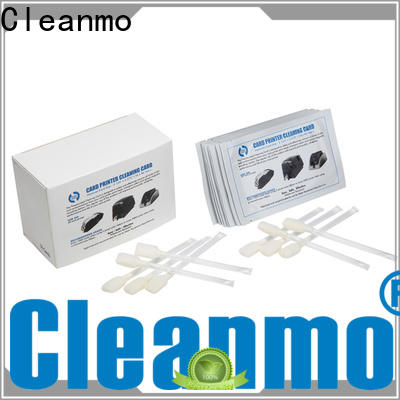 Cleanmo pvc zebra printer cleaning cards factory for cleaning dirt