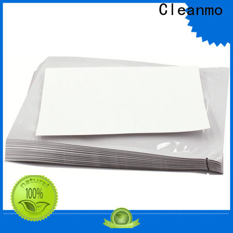 Cleanmo Aluminum Foil evolis cleaning kits manufacturer for Cleaning Printhead
