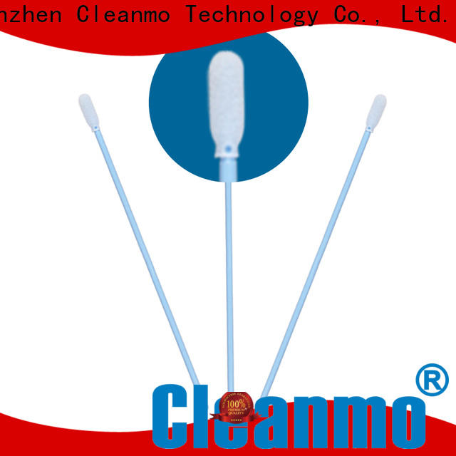 Cleanmo cost-effective pointed cotton buds supplier for excess materials cleaning