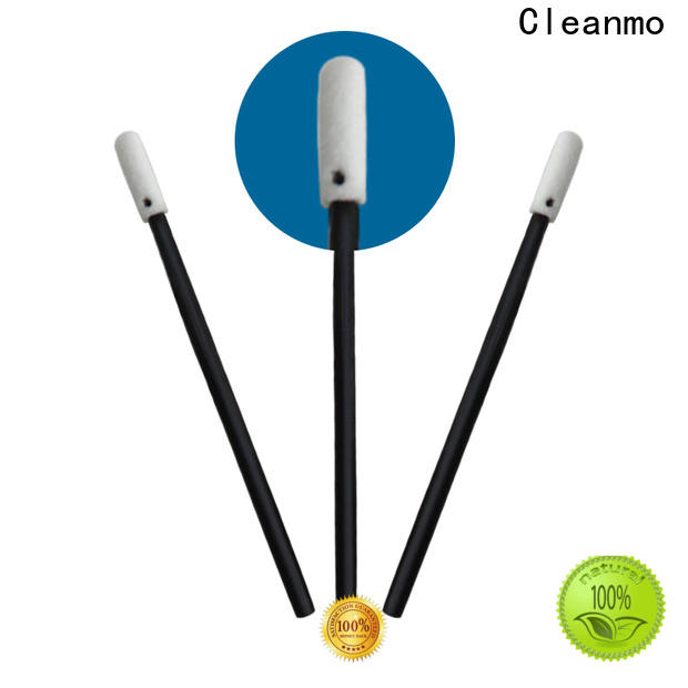 Cleanmo affordable charcoal cotton swabs manufacturer for Micro-mechanical cleaning