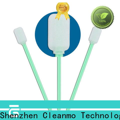 Cleanmo safe material electronics swab supplier for general purpose cleaning