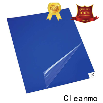 Cleanmo sensitive adhesive front door mat factory direct for gowning rooms
