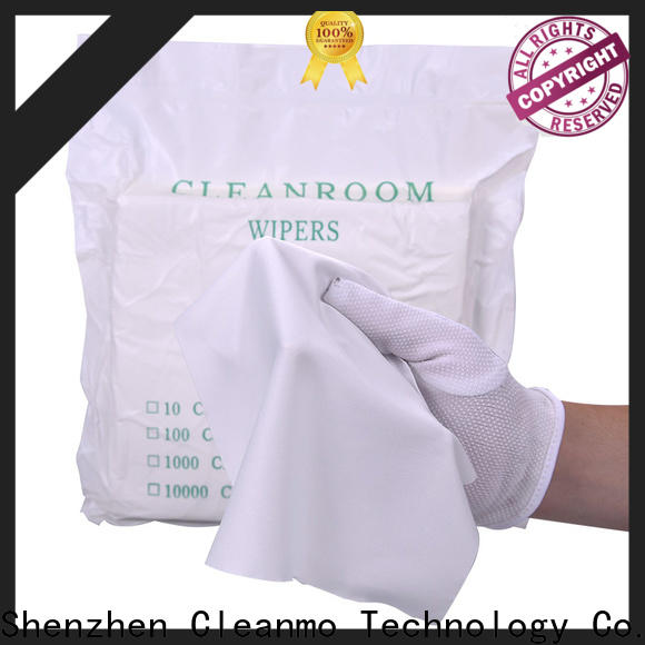 Cleanmo microfiber yarns microfiber cleaning cloth wholesale for medical device products