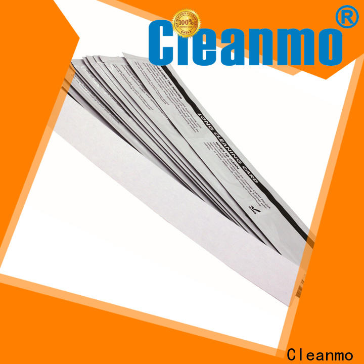 Cleanmo Aluminum foil packing roland cleaning swabs supplier for IDP SMART 30
