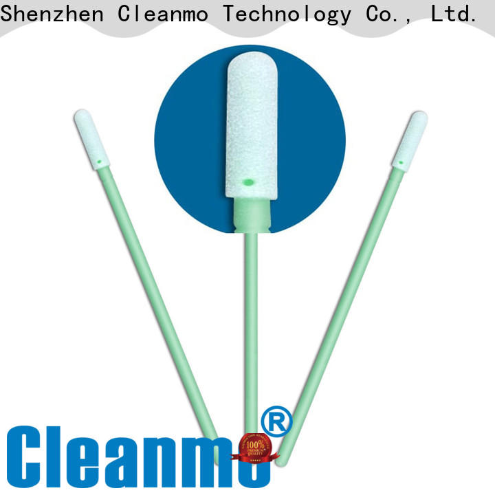 ESD-safe cheek swab small ropund head factory price for Micro-mechanical cleaning