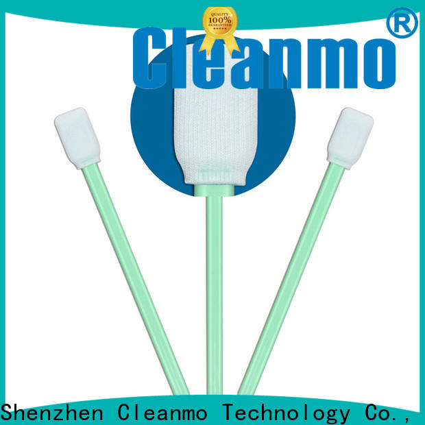 Cleanmo high quality Cleanroom polyester swab supplier for optical sensors