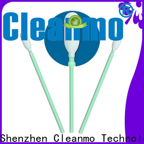 Cleanmo compatible sterile polyester swabs wholesale for microscopes