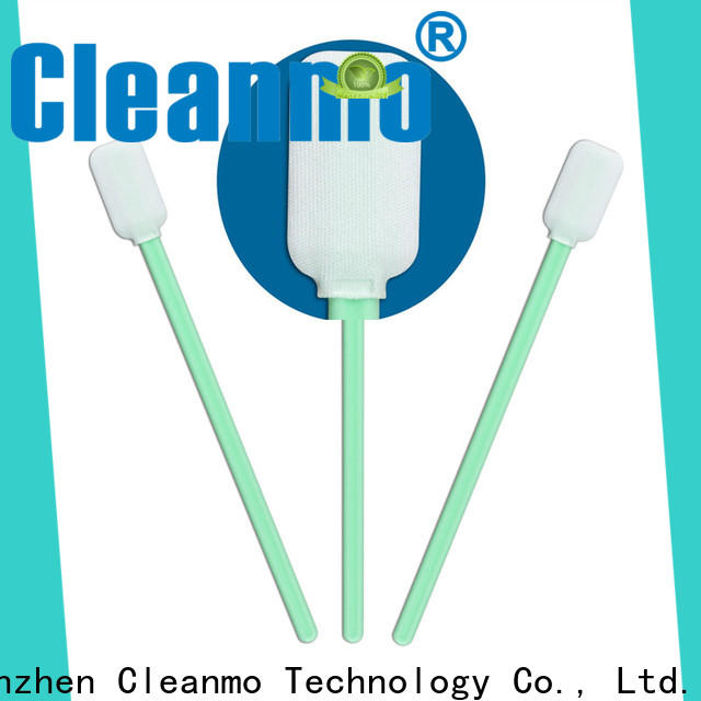 Cleanmo affordable cleaning swabs foam wholesale for Micro-mechanical cleaning