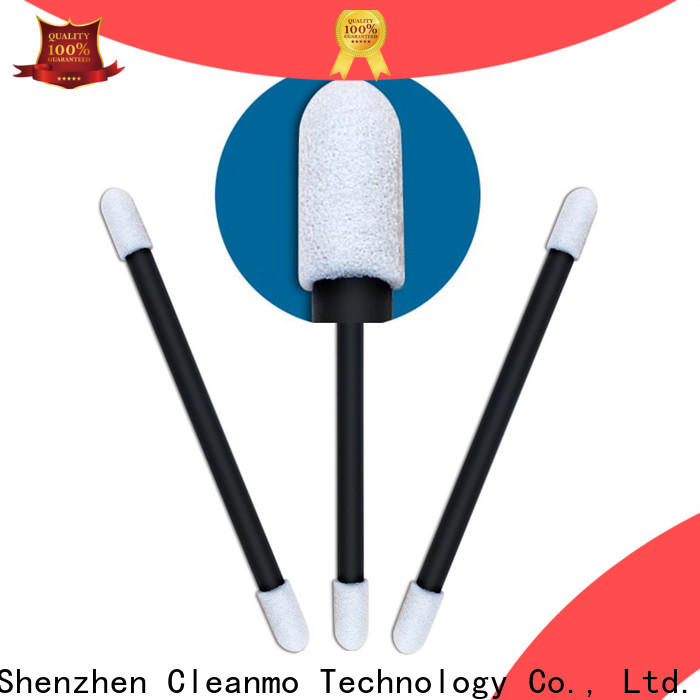 Cleanmo small ropund head infant cotton swabs wholesale for general purpose cleaning