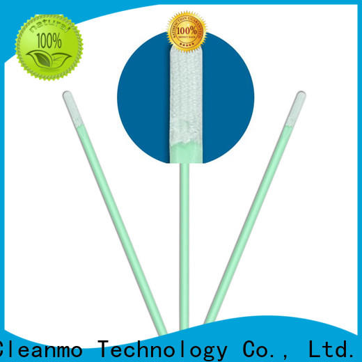Cleanmo excellent chemical resistance electronics cleaning swab factory price for Micro-mechanical cleaning