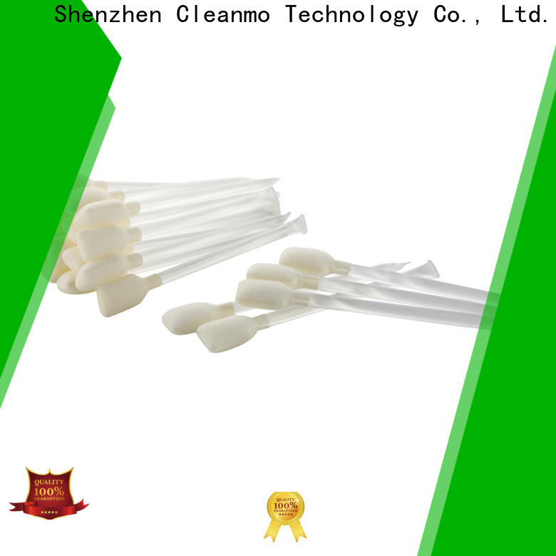 Cleanmo non woven zebra printer cleaning supplier for ID card printers