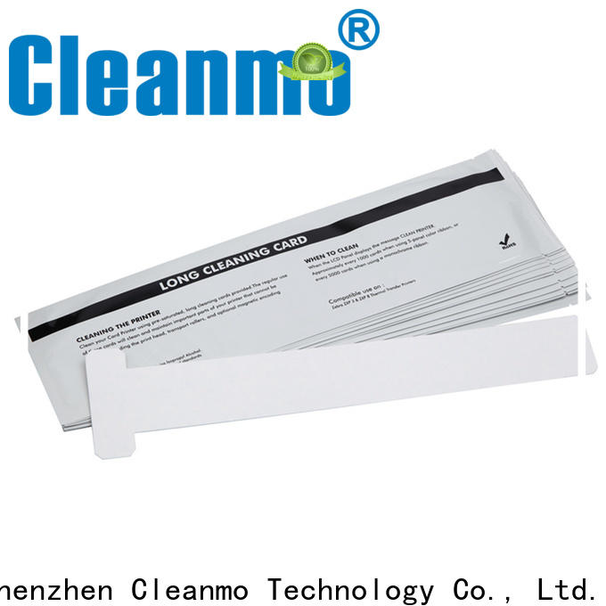 disposable zebra cleaners blending spunlace factory for ID card printers