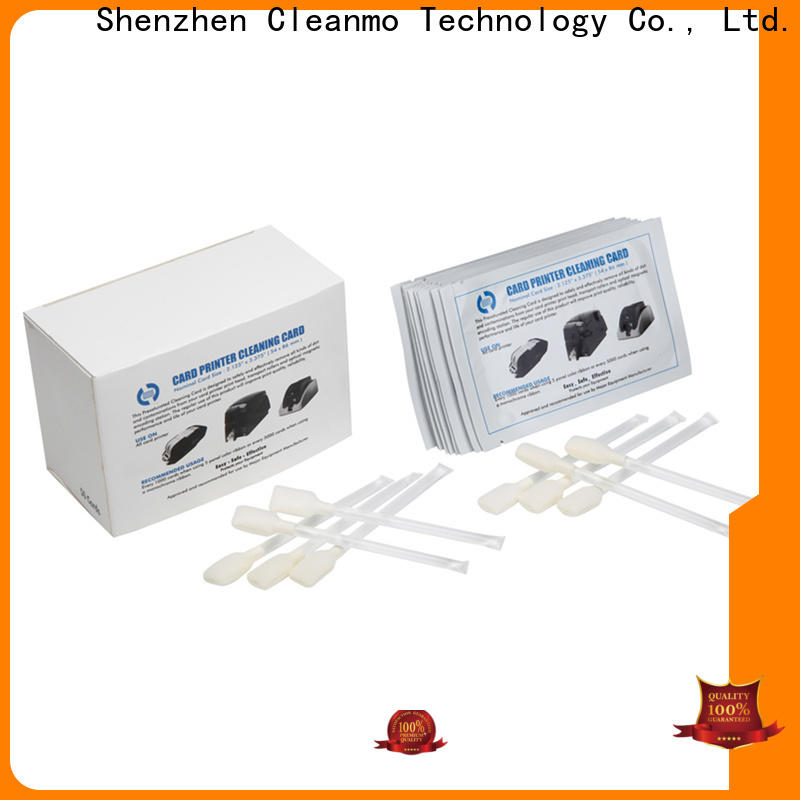 disposable zebra cleaning kit Aluminum foil packing factory for ID card printers