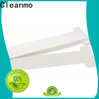 Cleanmo pvc zebra printer cleaning factory for ID card printers