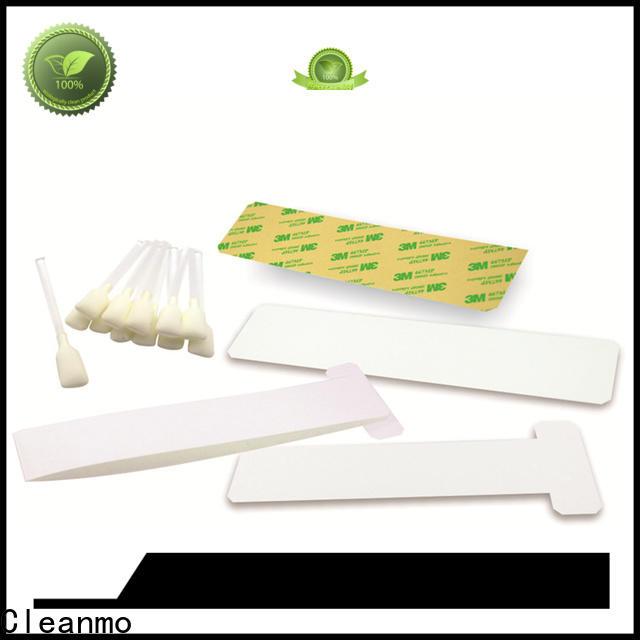 disposable zebra cleaning kit blending spunlace supplier for Zebra P120i printer