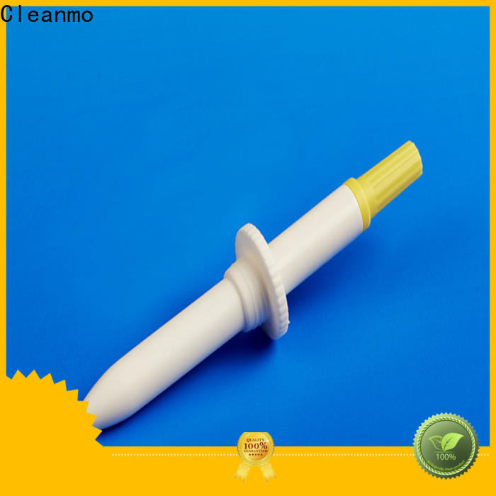 Cleanmo molded break point flocked swab wholesale for hospital
