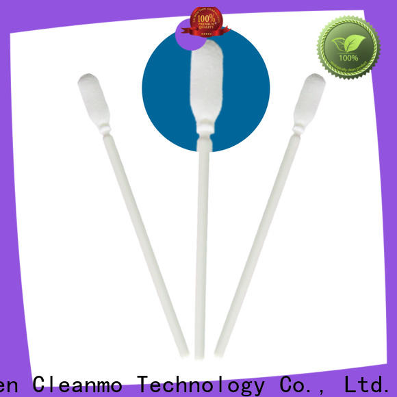 Cleanmo small ropund head cotton buds price supplier for Micro-mechanical cleaning