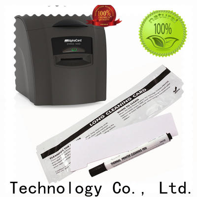 Cleanmo good quality AlphaCard Short T Cleaning Cards wholesale for AlphaCard PRO 100 Printer