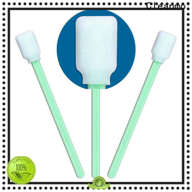 cost-effective cosmetic cotton buds green handle wholesale for excess materials cleaning