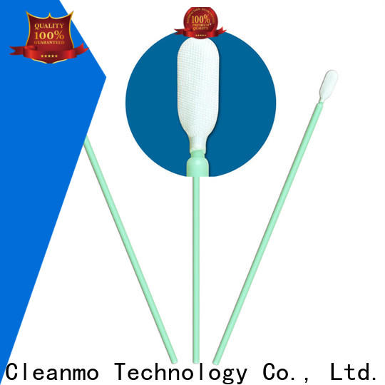 Cleanmo Polypropylene handle swab applicator factory price for general purpose cleaning