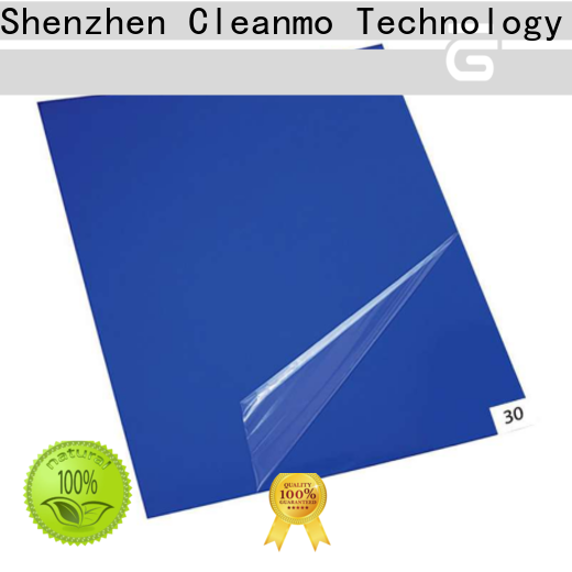 Cleanmo good quality adhesive mat factory direct for cleanroom entrances