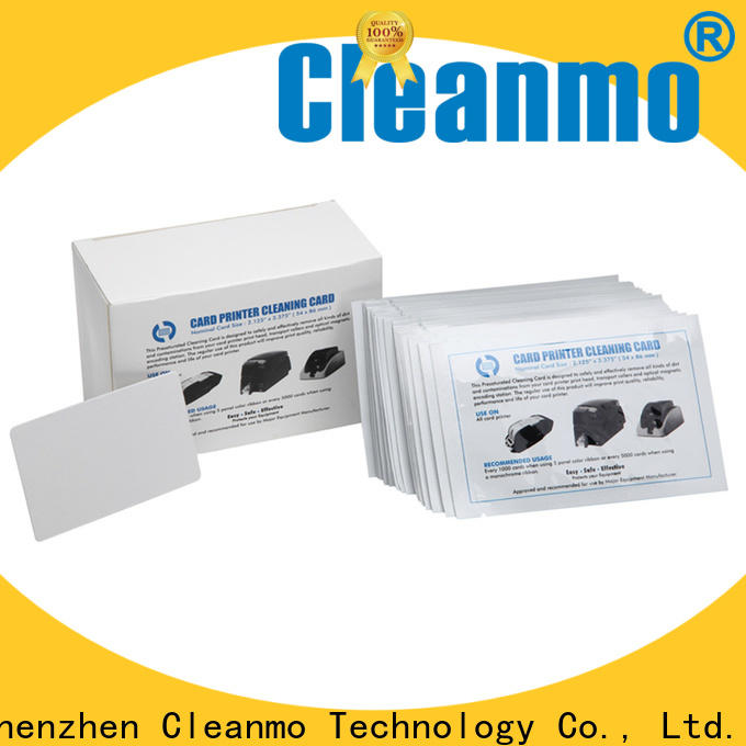 easy handling waffle cleaning cards plastic core manufacturer for ATM machines