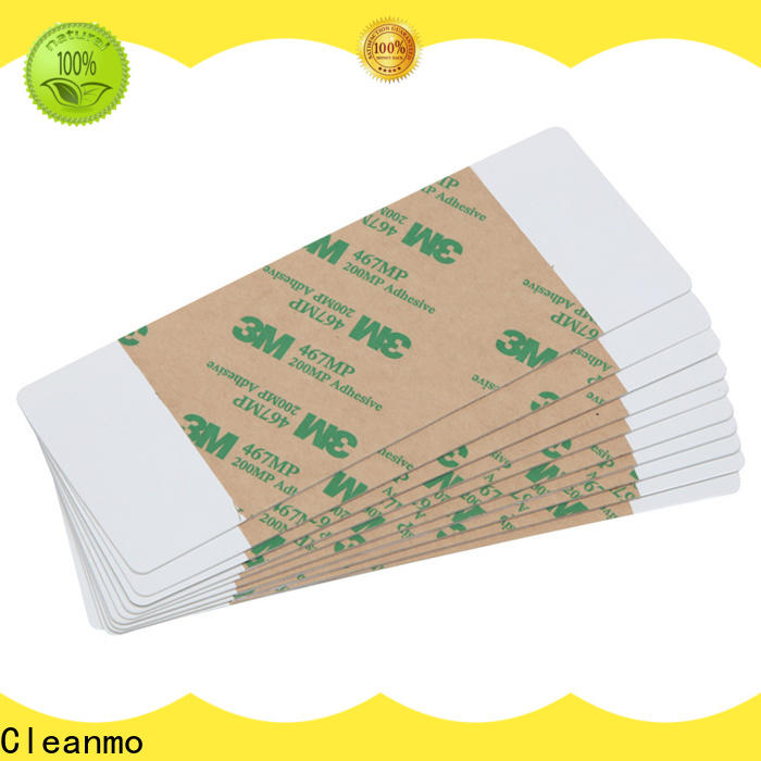 Cleanmo high tack pressure sensitive adhesive printer cleaning solution wholesale for ImageCard Select