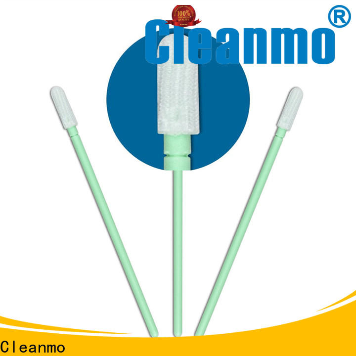 Cleanmo good quality fiber optic swabs supplier for microscopes
