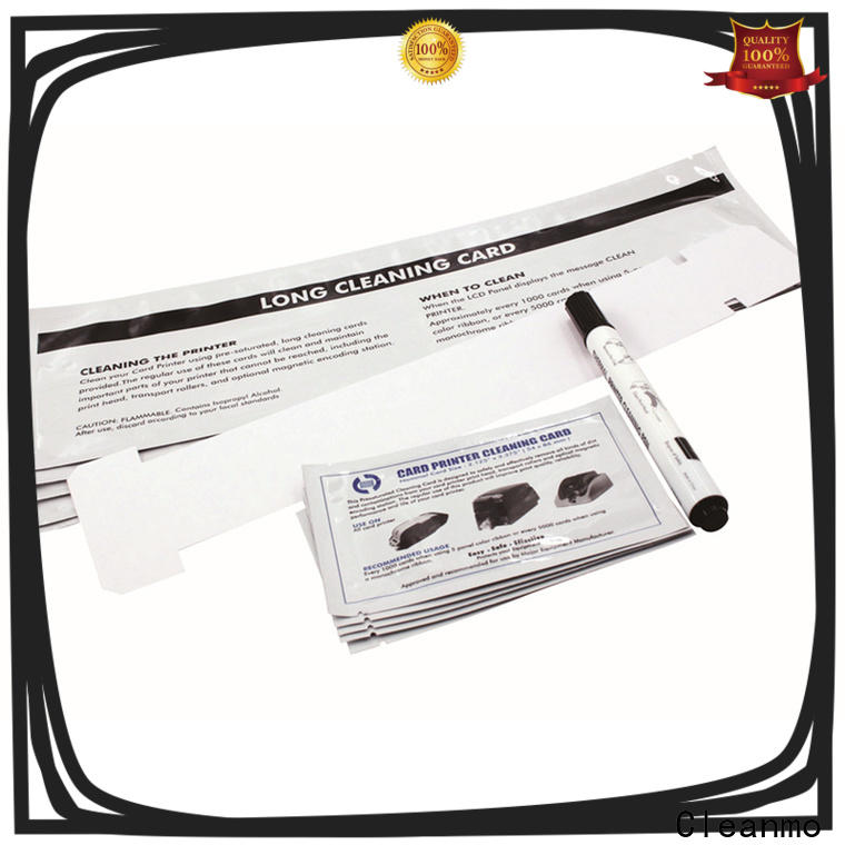 Cleanmo professional long cleaning swabs supplier for Javelin J360i printers