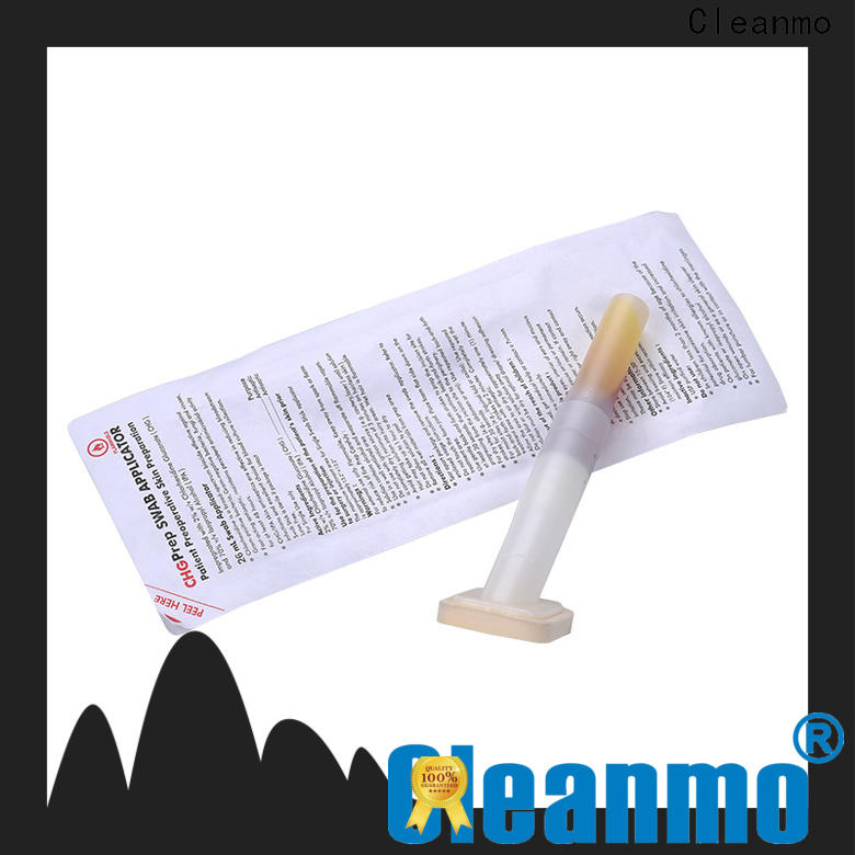 convenient sterile cotton tipped applicators medical grade 100PPI open-cell polyurethane foam factory for surgical site cleansing after suturing