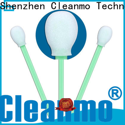 Cleanmo thermal bouded infant cotton swabs supplier for Micro-mechanical cleaning