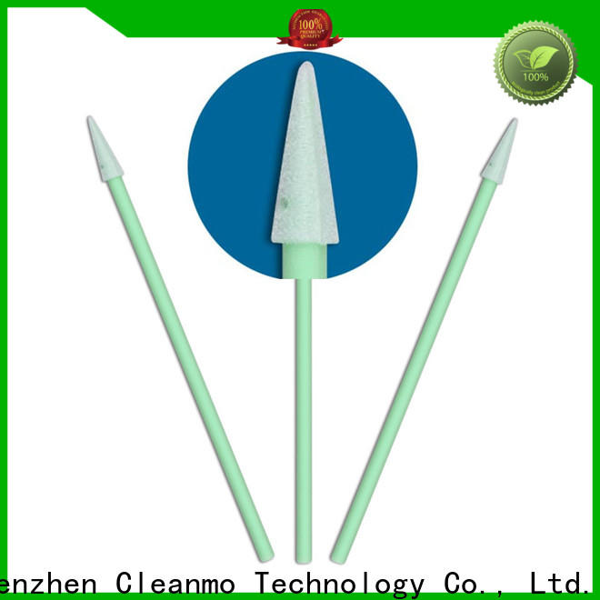 Cleanmo affordable lemon glycerin swabs manufacturer for Micro-mechanical cleaning
