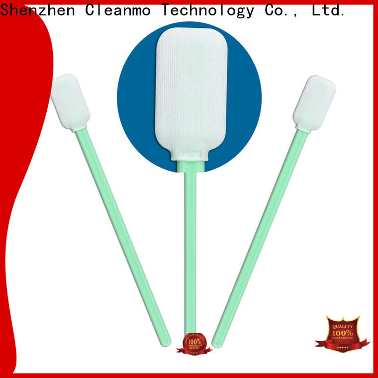 Cleanmo ESD-safe cleanroom q tips wholesale for excess materials cleaning